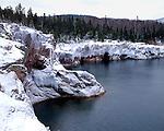 Shovel Point, Tettegouche State Park, Minnesota, February, 1988