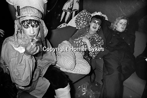 New Romantics, Heaven nightclub Villiers Street, Charing Cross, London, 1980.