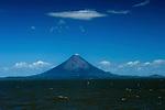 Nicaragua / Isla de Ometepe / Concepcion Volcano / Lake Nicaragua