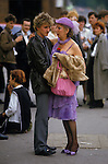 Couple &quot;age difference&quot; [Royal Ascot] Horse racing Berkshire  England