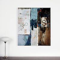 "Rolled Canvas Print: Artwork by Inman: Soho #58, Digital Print, Image Dims. 42"" x 36"","