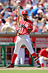 11 June 2006: Alfonso Soriano, outfielder for the Washington Nationals, at bat against the Philadelphia Phillies at RFK Stadium, in Washington, DC. The Nationals shut out the visiting Phillies 6-0 to take the series three games to one...Mandatory Photo Credit: Ed Wolfstein Photo..