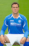 St Johnstone FC...Season 2011-12.Graham Gartland.Picture by Graeme Hart..Copyright Perthshire Picture Agency.Tel: 01738 623350  Mobile: 07990 594431