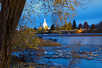 Fall Evening at The Falls at Idaho Falls