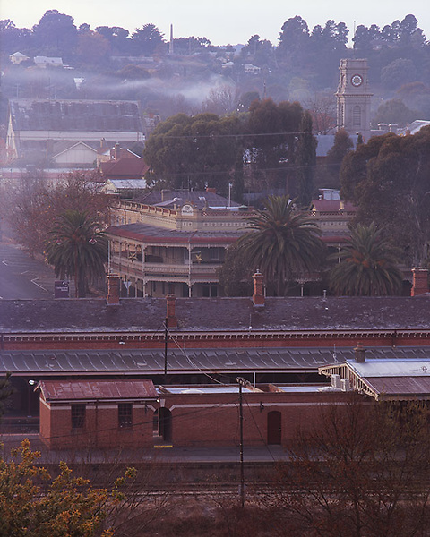 View from the Gaol, Castlemaine