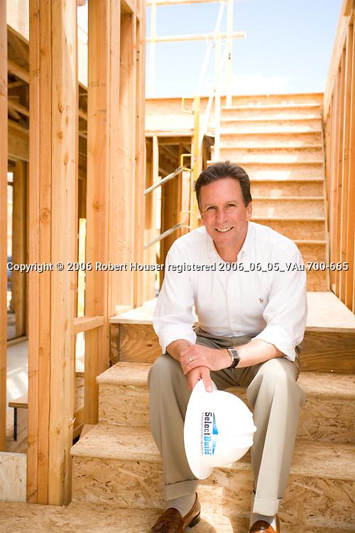 BMHC - Michael Mahre - CEO - BMC Construction, Stan Wilson - CEO BMC West, Robert Mellor - CEO - BMHC: Executive portrait photographs by San Francisco - corporate and annual report - photographer Robert Houser.