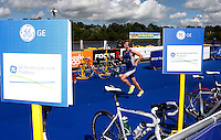 Photo: Richard Lane/Richard Lane Photography. GE Strathclyde Park Triathlon. 22/05/2011. Elite Men race.