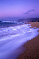 Sunset at Polihale beach, far west end of Kauai