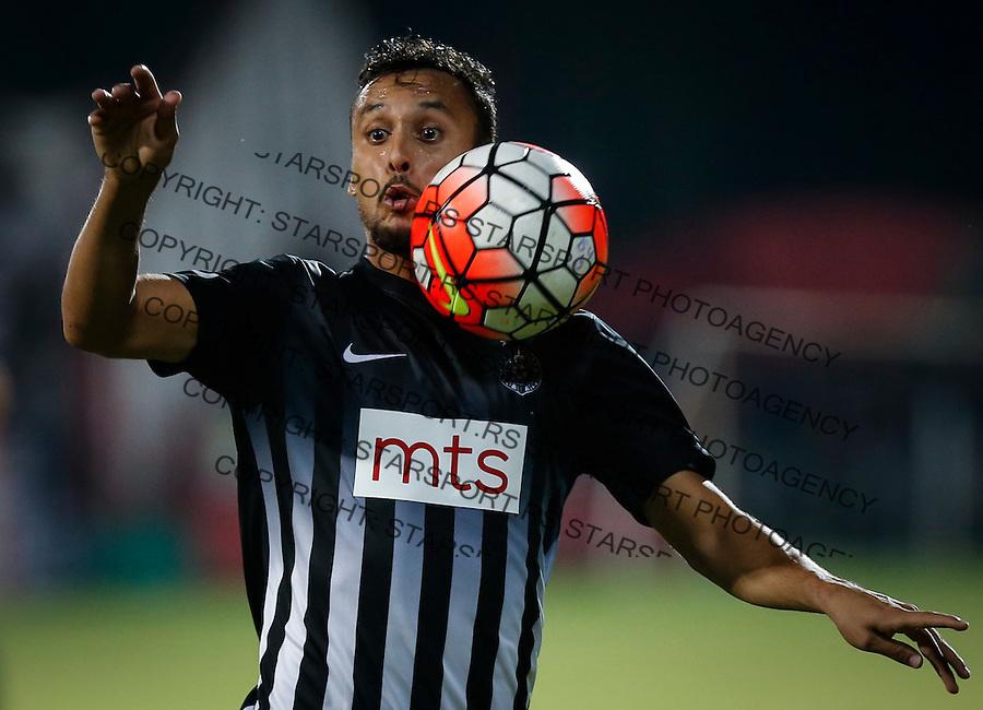 Fudbal Super League season 2016-2017<br /> Borac (Cacak) v Partizan<br /> Leonardo<br /> Cacak, 11.09.2016.<br /> foto: Srdjan Stevanovic/Starsportphoto&copy;