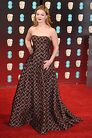 Holiday Grainger at the 2017 EE British Academy Film Awards (BAFTA) held at The Royal Albert Hall, London, UK. <br /> 12 February  2017<br /> Picture: Steve Vas/Featureflash/SilverHub 0208 004 5359 sales@silverhubmedia.com