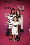 """Cast of Annie Attend """"BLACK GIRLS ROCK!"""" Honoring legendary singer Patti Labelle (Living Legend Award), hip-hop pioneer Queen Latifah (Rock Star Award), esteemed writer and producer Mara Brock Akil (Shot Caller Award), tennis icon and entrepreneur Venus Williams (Star Power Award celebrated by Chevy), community organizer Ameena Matthews (Community Activist Award), ground-breaking ballet dancer Misty Copeland (Young, Gifted & Black Award), and children's rights activist Marian Wright Edelman (Social Humanitarian Award) Hosted By Tracee Ellis Ross and Regina King Held at NJ PAC, NJ"""