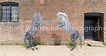 Flora Murchie Sculpture Horses  7th May 2014