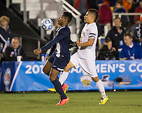 Cary, NC - December 12, 2014: Virginia defeated UMBC 1-0 during the NCAA Men's College Cup semifinals at WakeMed Soccer Park.