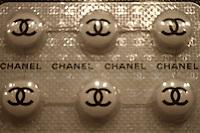 chanel pills at art miami