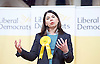 Tim Farron MP <br /> Leader of the LibDems addresses a public meeting on Brexit with Sarah Olney Liberal Democrat candidate in the Richmond Park by election at Christ Church, New Malden, Surrey, Great Britain <br /> 26th November 2016 <br /> <br /> Sarah Olney <br /> <br /> <br /> <br /> <br /> Photograph by Elliott Franks <br /> Image licensed to Elliott Franks Photography Services