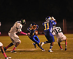Oxford High's Nick Brown (18) vs. Lake Cormorant in Oxford, Miss. on Friday, October 5, 2012. Oxford High won 26-0.
