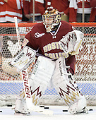 Parker Milner (BC - 35) - The visiting Boston College Eagles defeated the Boston University Terriers 9-5 on Friday, December 3, 2010, at Agganis Arena in Boston, Massachusetts.
