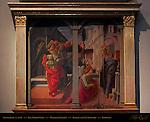 Annunziata detail Fra Lippo Lippi 1440 Martelli Chapel Basilica di San Lorenzo Florence