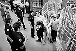 The funeral of American musician Elvis Presley outside his home, Graceland, Memphis, Tennessee, August 1977