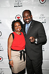 Dayna Griles and Larry Scott Blackman Attend The 4th Annual Beauty and the Beat: Heroines of Excellence Awards Honoring Outstanding Women of Color on the Rise Hosted by Wilhelmina and Brand Jordan Model Maria Clifton Held at the Empire Room, NY 3/22/13