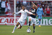 Bridgeview, IL. - July 25, 2015: The Chicago Fire played the New England Revolution to a 2-2 tie at Toyota Park.