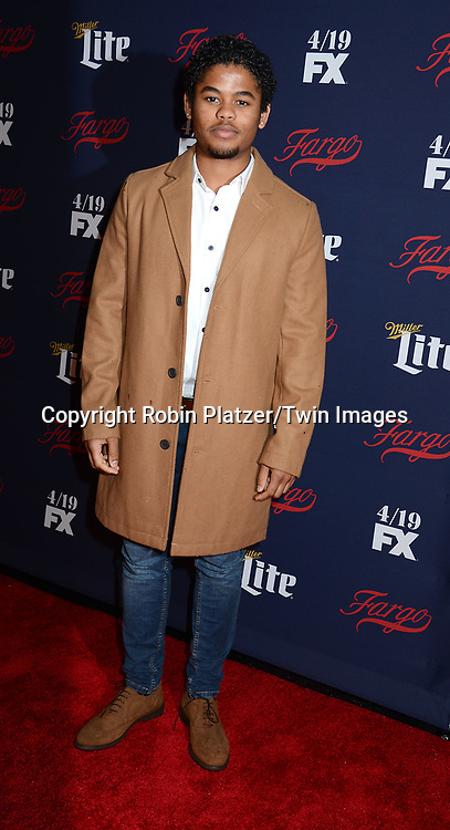 Isaiah John attends FX's 2017 All-Star Upfront on  April 6, 2017 at SVA Theater in New York, New York, USA. <br /> <br /> photo by Robin Platzer/Twin Images<br />  <br /> phone number 212-935-0770