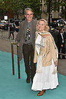 Jeremy Irons and Sinead Cusack at the V&amp;A&rsquo;s summer party at the Victoria and Albert Museum, London, England on June 22, 2016<br /> CAP/PL<br /> &copy;Phil Loftus/Capital Pictures /MediaPunch ***NORTH AND SOUTH AMERICAS ONLY***