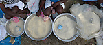 Women sell rice and other basic foods in Les Palmes, a rural village in southern Haiti where the Lutheran World Federation has been working with survivors of the 2010 earthquake, along with other residents, to experience more abundant life.
