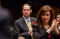 TALLAHASSEE, FLA. 3/3/15-Sen. Joe Negron, R-Stuart, during the opening day of the 2015 Legislative Session Tuesday at the Capitol in Tallahassee.<br /> <br /> COLIN HACKLEY PHOTO