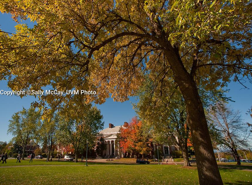 Waterman, Fall UVM Campus