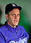 23 April 2010: Los Angeles Dodgers' Manager Joe Torre talks to the media prior to a game against the Washington Nationals at Nationals Park in Washington, DC. The Nationals defeated the Dodgers 5-1 in the first game of their 3-game series. Mandatory Credit: Ed Wolfstein Photo
