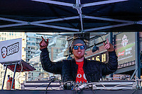 Toronto, ON, Canada - Saturday Dec. 10, 2016: DJ prior to the MLS Cup finals at BMO Field.