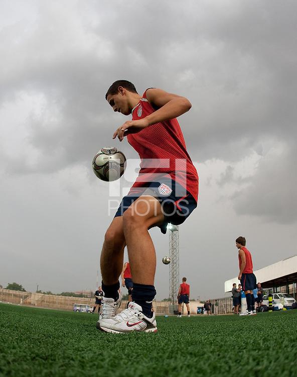 Luis Gil. U.S. Under-17 Men Training  Kano, Nigeria