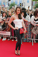 22/6/2010. Get Him to the Greek Irish Premiere.  Michelle Heaton is pictured arriving at the Savoy Cinema Dublin for the Irish Premiere of Get Him to the Greek. Picture James Horan/Collins Photos