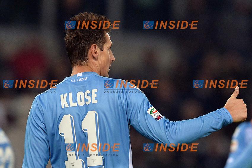 Miralem Klose Lazio.<br /> Roma 4-12-2015 Stadio Olimpico, Football Calcio 2015/2016 Serie A Lazio - Juventus. Foto Antonietta Baldassarre / Insidefoto