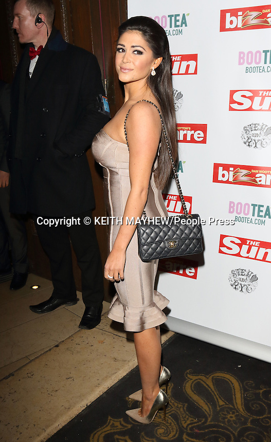 The Sun Bizarre Party at Steam &amp; Rye, London on March 2nd 2015 <br /> <br /> Photo by Keith Mayhew