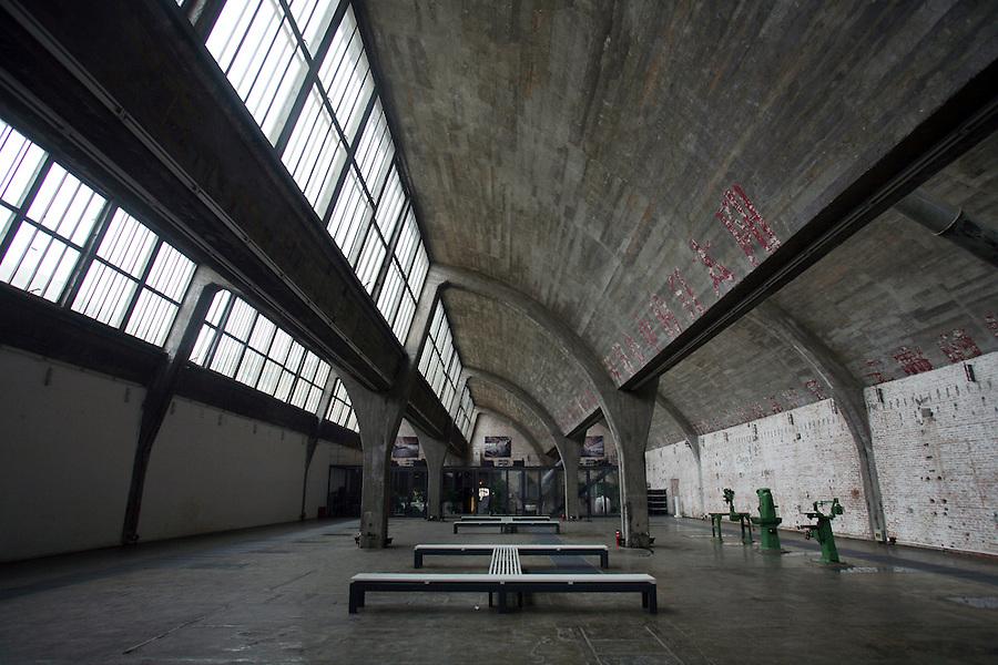 The interior of Gallery 798 in Dashanzi.