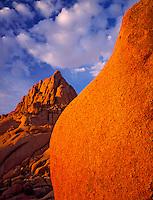 Spitzkoppe peak at dawn Spitzkoppe Ranges, Namibia, Africa