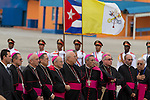 The arrival of Pope Francis at Jose Marti International Airport in Havana, Cuba on Saturday, September 19, 2015.