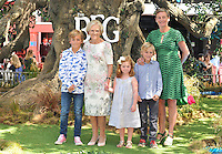 Mary Berry ( 2nd fr left ) &amp; guests at the &quot;The BFG&quot; UK film premiere, Odeon Leicester Square cinema, Leicester Square, London, England, UK, on Sunday 17 July 2016.<br /> CAP/CAN<br /> &copy;CAN/Capital Pictures /MediaPunch ***NORTH AND SOUTH AMERICAS ONLY***