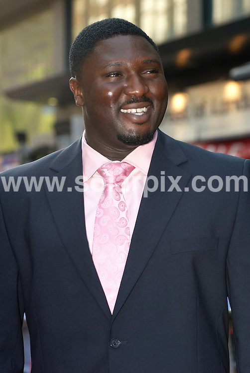 **ALL ROUND PICTURES FROM SOLARPIX.COM**.**WORLDWIDE SYNDICATION RIGHTS**.Guests arrive for the premiere of the film Cass, held at the Empire, Leicester Square, London. 28th July 2008..This pic: Nonso Anozie..JOB REF: 6926 FRG     DATE: 28_07_2008.**MUST CREDIT SOLARPIX.COM OR DOUBLE FEE WILL BE CHARGED* *UNDER NO CIRCUMSTANCES IS THIS IMAGE TO BE REPRODUCED FOR ANY ONLINE EDITION WITHOUT PRIOR PERMISSION*
