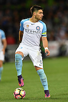 Melbourne, 17 December 2016 - BRUNO FORNAROLI (23) of Melbourne City controls the ball in the round 11 match of the A-League between Melbourne City and Melbourne Victory at AAMI Park, Melbourne, Australia. Victory won 2-1 (Photo Sydney Low / sydlow.com)