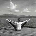 Cathleen Hurwitz.Ballet Warm-up.Moosehead Lake, Maine
