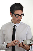 Stock photo of young business man