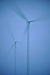 A group of wind turbine are seen in wind park of Cogollos II, in Cogollos, near Burgos on March 28, 2011. Wind energy is an abundant, renewable, clean and helps reduce emissions of greenhouse gases from power plants to replace fossil fuel-based, which makes it a kind of green energy..Un grupo de aerogeneradores del parque eolico de Cogollos II son vistos en Cogollos, cerca de Burgos en Marzo 28, 2011. La energía eólica es un recurso abundante, renovable, limpio y ayuda a disminuir las emisiones de gases de efecto invernadero al reemplazar termoeléctricas a base de combustibles fósiles, lo que la convierte en un tipo de energía verde. (C) Pedro ARMESTRE