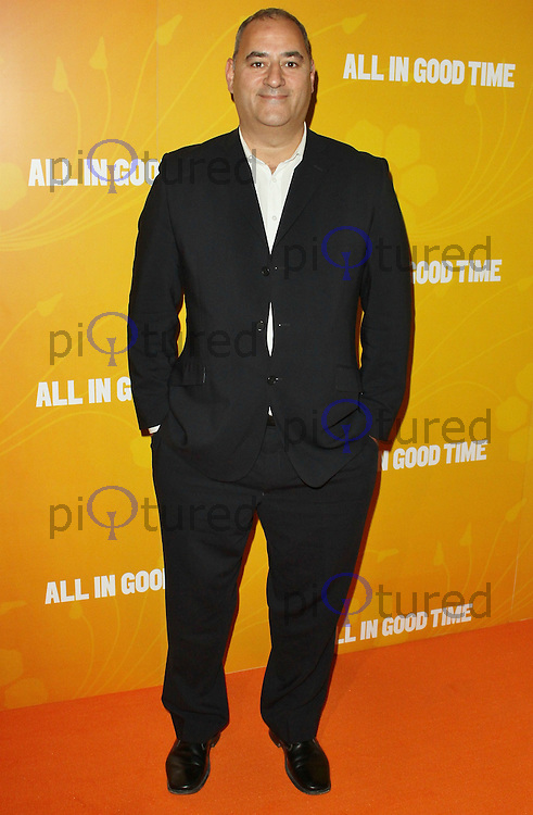 LONDON - MAY 08: Ayub Khan Din attends the UK premiere of All In Good Time at BFI Southbank, London, UK, May 08 2012. (Photo by Brett D. Cove)