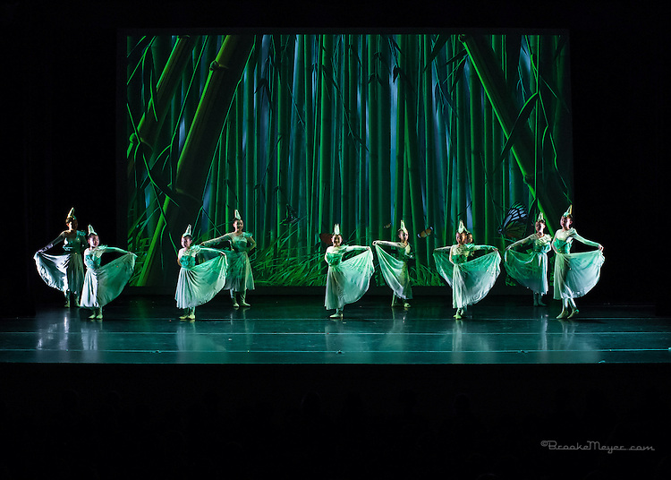 """Binger Dance Studios - Performance of """"Spring Bamboo Shoots"""", Cary Arts Center, 14 March 2015"""