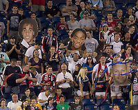 The New England Revolution defeated Houston Dynamo, 1-0, at Gillette Stadium on August 14, 2010.