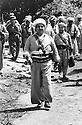 Iraq 1974 <br /> The resumption of hostilities, General Barzani, first rank, in the middle  and members of his cabinetI, right, Mahmoud Osman  near Nawpurdan  <br /> Irak 1974 <br /> La reprise de la lutte arm&eacute;e, premier rang , au centre le General Barzani avec a droite Dr. Mahmoud Osman
