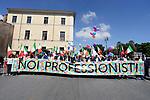 Noi Professionisti, manifestazione a Roma